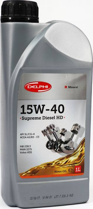 Delphi =93891209 - Моторне масло autozip.com.ua