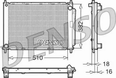 Denso DRM23100 - Модуль охолодження autozip.com.ua