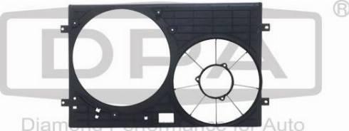 DPA 81210127102 - Вентилятор, охолодження двигуна autozip.com.ua
