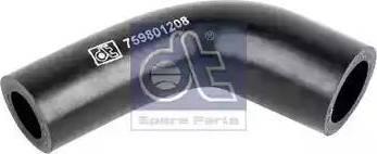 DT Spare Parts 119180 - Гідравлічний шланг, рульове управління autozip.com.ua