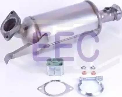 EEC DPF038 - сажі / частковий фільтр, система вихлопу ОГ autozip.com.ua