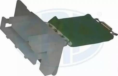 ERA 665019 - Опір, реле, вентилятор салону autozip.com.ua