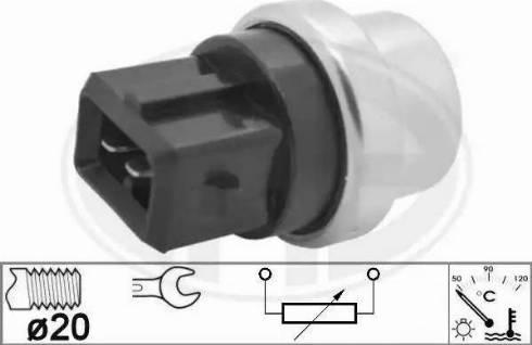 ERA 330955 - Термовимикач, вентилятор радіатора / кондиціонера autozip.com.ua