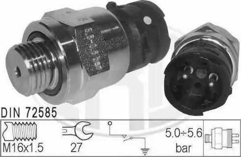 ERA 330506 - Датчик, пневматична система autozip.com.ua