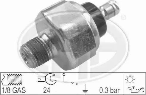 ERA 330006 - Датчик тиску масла autozip.com.ua