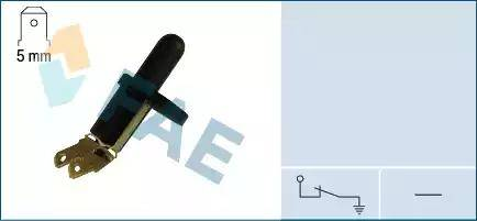 FAE 67210 - Вимикач, контакт двері autozip.com.ua