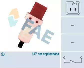 FAE 24896 - Вимикач, привід зчеплення (Tempomat) autozip.com.ua