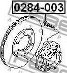 Febest 0284003 - Болт кріплення колеса autozip.com.ua