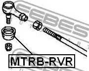 Febest MTRB-RVR - Ремкомплект, наконечник поперечної рульової тяги autozip.com.ua