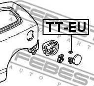Febest TT-EU - Кришка, паливної бак autozip.com.ua