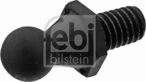 Febi Bilstein 40838 - Кріпильний елемент, кожух двигуна autozip.com.ua