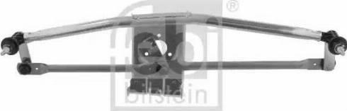 Febi Bilstein 40705 - Система тяг і важелів приводу склоочисника autozip.com.ua