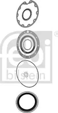 Febi Bilstein 06644 - Комплект прокладок, планетарна колісна передача autozip.com.ua