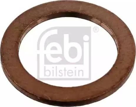 Febi Bilstein 07215 - Кільце ущільнювача, нарізна пробка мастилозливного  отвору autozip.com.ua