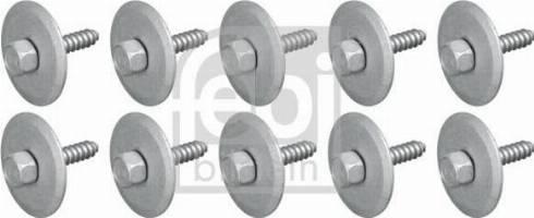 Febi Bilstein 104072 - Захист двигуна / піддону двигуна autozip.com.ua