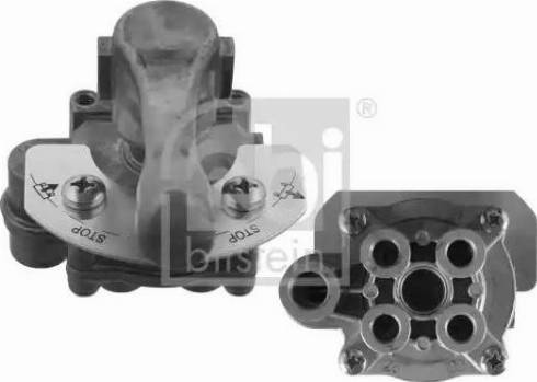 Febi Bilstein 38128 - Клапан поворотною заслінки autozip.com.ua