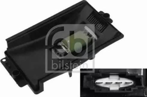 Febi Bilstein 33154 - Блок управління, опалення / вентиляція autozip.com.ua