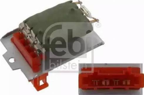 Febi Bilstein 32178 - Блок управління, опалення / вентиляція autozip.com.ua