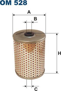 Filtron OM528 - Фільтр, Гідравлічна система приводу робочого устаткування autozip.com.ua