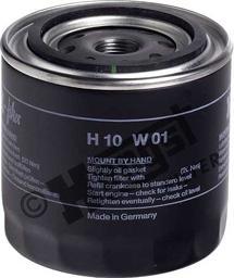 Hengst Filter H10W01 - Повітряний фільтр, компресор - підсмоктування повітря autozip.com.ua