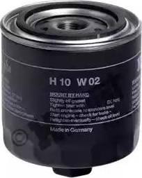 Hengst Filter H10W02 - Повітряний фільтр, компресор - підсмоктування повітря autozip.com.ua