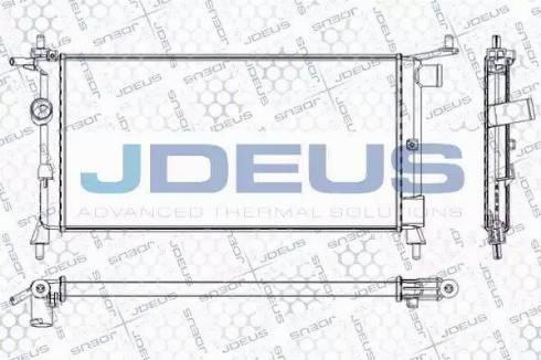 Jdeus RA0200660 - Радіатор, охолодження двигуна autozip.com.ua