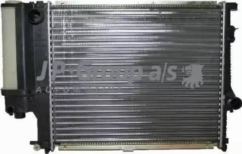 JP Group 1414200300 - Радіатор, охолодження двигуна autozip.com.ua
