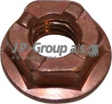 JP Group 1101100600 - Гайка, випускний колектор autozip.com.ua