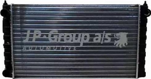 JP Group 1114201900 - Радіатор, охолодження двигуна autozip.com.ua