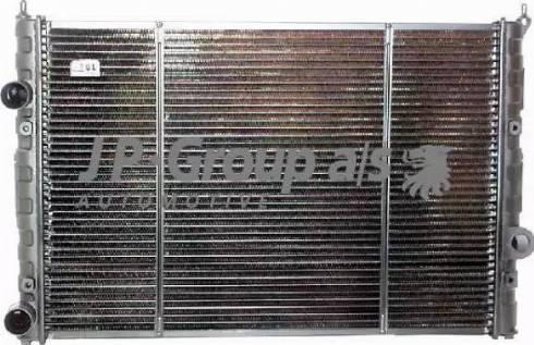 JP Group 1114201500 - Радіатор, охолодження двигуна autozip.com.ua