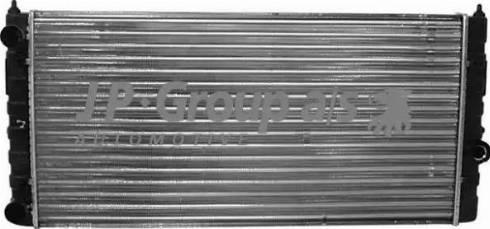 JP Group 1114203000 - Радіатор, охолодження двигуна autozip.com.ua