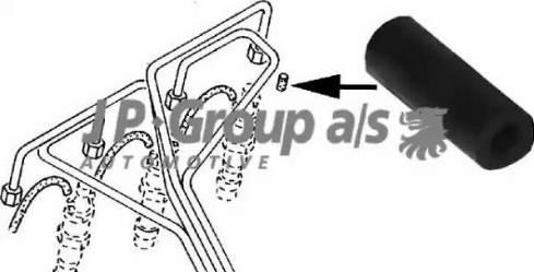 JP Group 1115550100 - Ковпачок, витік палива autozip.com.ua