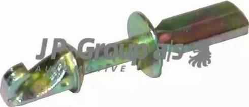 JP Group 1187150200 - Система управління ручки дверей autozip.com.ua