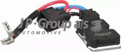 JP Group 1399150100 - Блок управління, ел.  вентилятор (охолодження двигуна) autozip.com.ua