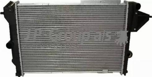 JP Group 1214201100 - Радіатор, охолодження двигуна autozip.com.ua