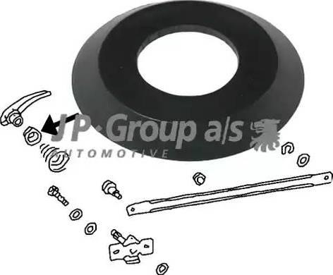 JP Group 8187150106 - Ручка двері autozip.com.ua