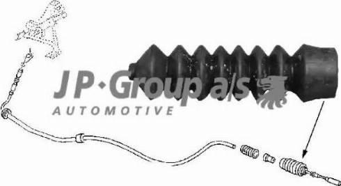 JP Group 8170550300 - Тросик заслінки обігрівача autozip.com.ua