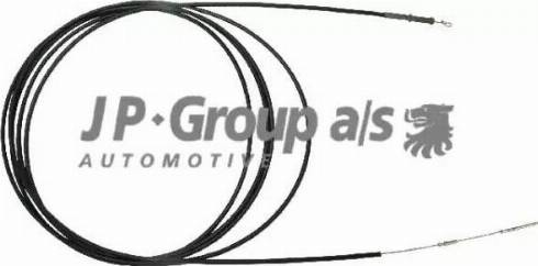 JP Group 8170501183 - Тросик заслінки обігрівача autozip.com.ua