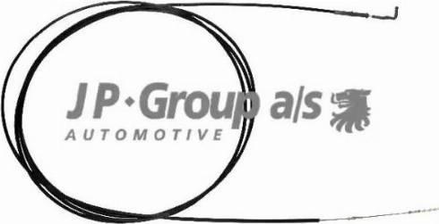 JP Group 8170501173 - Тросик заслінки обігрівача autozip.com.ua