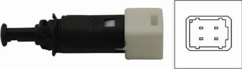 Kavo Parts EBL-5502 - Вимикач ліхтаря сигналу гальмування autozip.com.ua