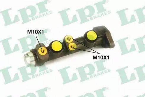 LPR 6757 - Головний гальмівний циліндр autozip.com.ua