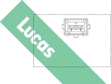 LUCAS SEB464 - Датчик частоти обертання, ступінчаста коробка передач autozip.com.ua