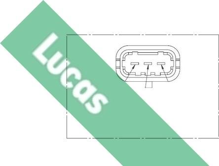LUCAS SEB1257 - Датчик частоти обертання, ступінчаста коробка передач autozip.com.ua