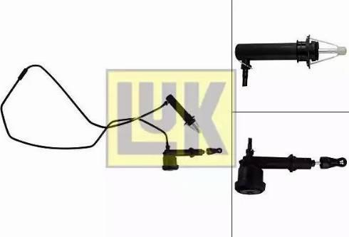 LUK 513 0066 10 - Головний / робочий циліндр, система зчеплення autozip.com.ua