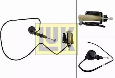 LUK 513 0071 10 - Головний / робочий циліндр, система зчеплення autozip.com.ua