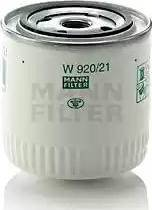 Mann-Filter W92021 - Фільтр, Гідравлічна система приводу робочого устаткування autozip.com.ua