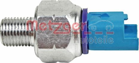 Metzger 0910101 - Датчик тиску масла, рульовий механізм з підсилювачем autozip.com.ua