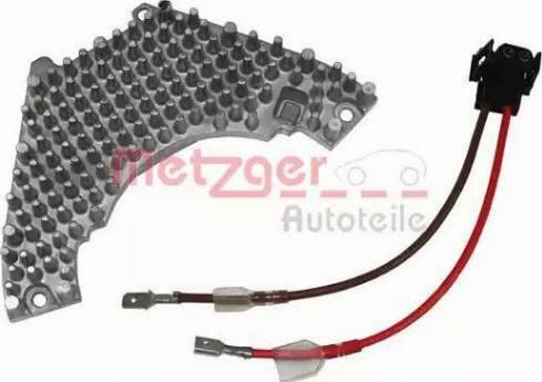 Metzger 0917040 - Блок управління, опалення / вентиляція autozip.com.ua