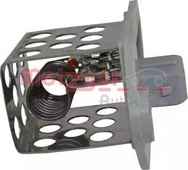 Metzger 0917051 - Блок управління, ел.  вентилятор (охолодження двигуна) autozip.com.ua