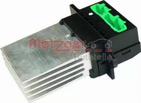 Metzger 0917001 - Блок управління, опалення / вентиляція autozip.com.ua